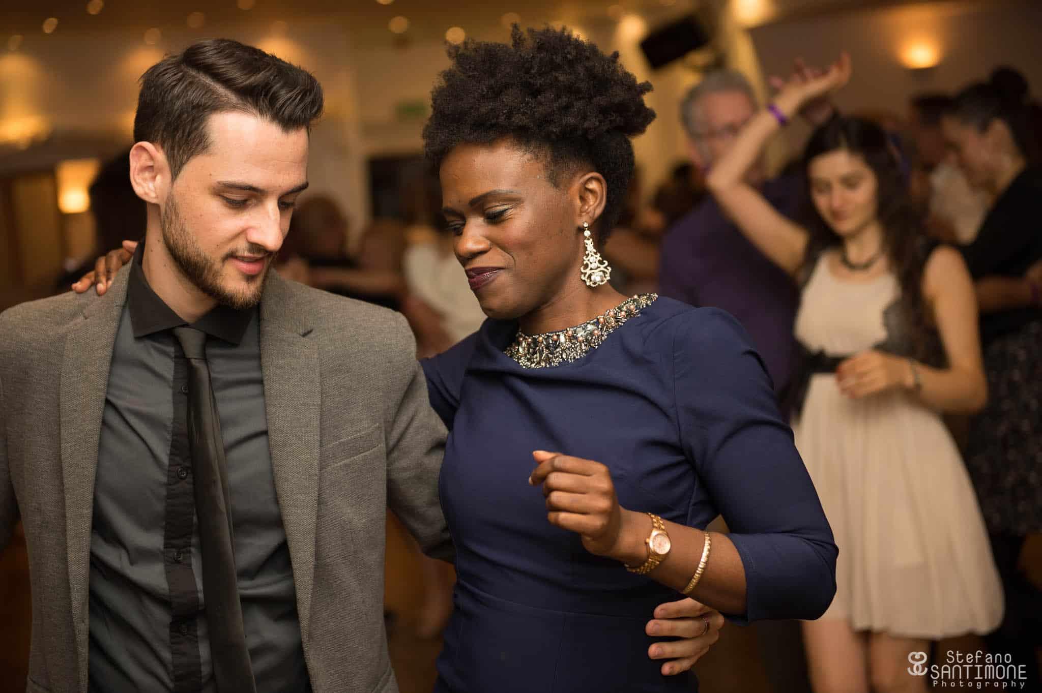 Semba dancing opening partner