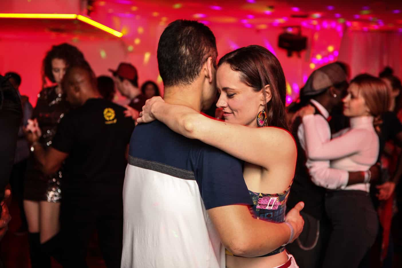 Couple dancing kizomba SE south london