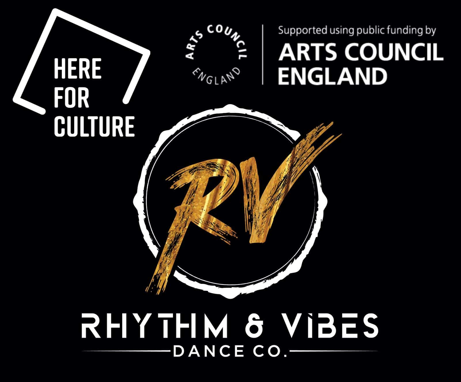 Arts Council England and Rhythm and Vibes Dance Company